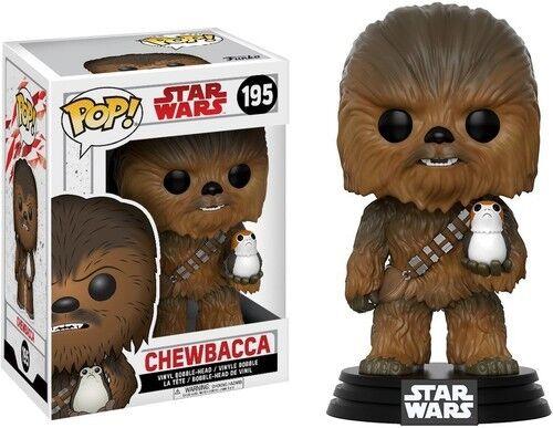 The Last Jedi - Chewbacca - Funko Pop! Star Wars: (Toy New)