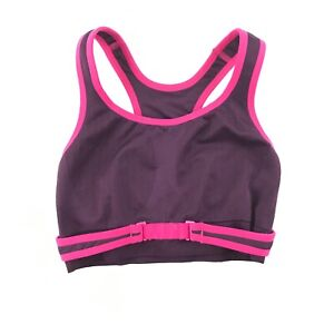 19fda18a9af01 Image is loading Patagonia-Switchback-Womens -Purple-Pink-Front-Closure-Racerback-