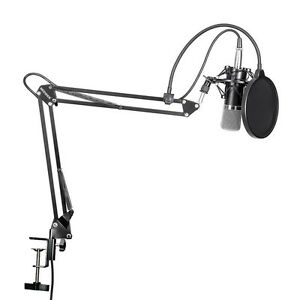 Professional-Condenser-Mic-Microphone-Studio-Sound-Recording-With-Arm-Stand-Set