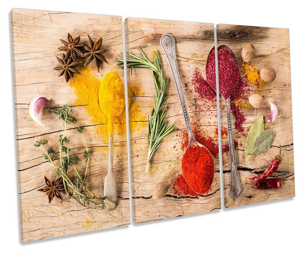 Café Kitchen Restaurant Picture TREBLE CANVAS WALL ART Print
