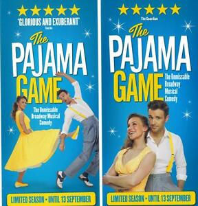Musical Flyer - Set: THE PAJAMA GAME - LONDON - Deutschland - Musical Flyer - Set: THE PAJAMA GAME - LONDON - Deutschland