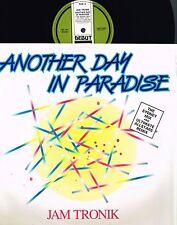"JAM TRONIK Another Day In Paradise 12"" VINYL Phil Collins DEBUT 1989 DEBTX 3093"
