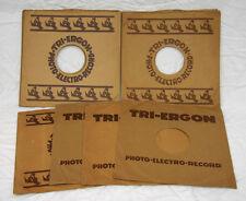 13  ORIG. SCHALLPLATTENHÜLLEN -COVER- SCHELLACK 25 CM der Firma  TRI-ERGON  C130