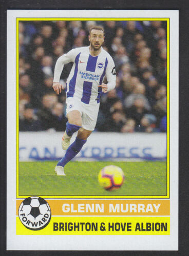 Topps según demanda 2019 1977 futbolista # 14 Glenn Murray-Brighton