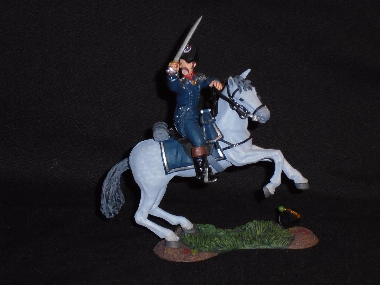 BRITAINS 17885 NAPOLEONIC FRENCH 1ST LT.INF.MOUNTED OFFICER SET