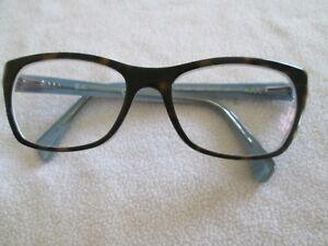 3b31d9d432c Image is loading Ray-Ban-brown-tortoiseshell-blue-glasses-frames-RB-
