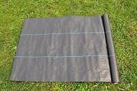 2x 20 Year Weed Barrier Landscape Fabric 4oz 5x300ft Needle-punched Compound