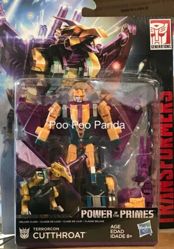 Transformers Power of the Primes Deluxe Terrorcon Cutthroat IN STOCK USA