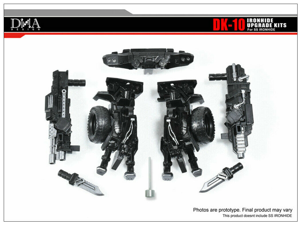 Transformers toy DNA DK-10 SS14 Ironhide Upgrade Weapon Upgrade Kits Kits Kits will arrive 8bbc65