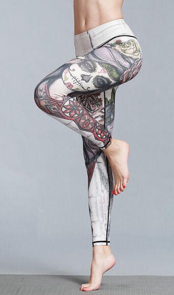 2019 Moda Pantaloni Leggings Yoga Donna Casual Sport Woman Fitness Yoga Trousers Fits001 P Squisita Arte Tradizionale Del Ricamo