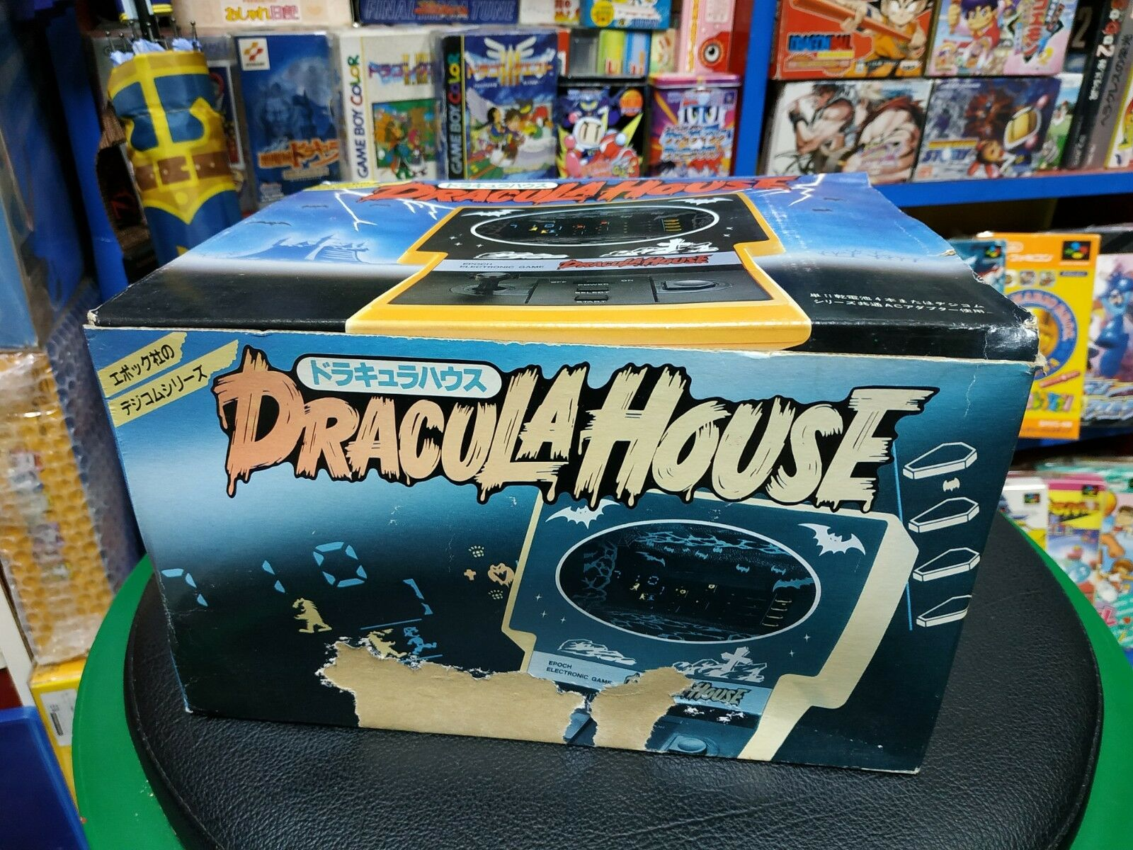 LSI Game & Watch  Table Table Table Top Dracula House Japan Brand New 09eba5