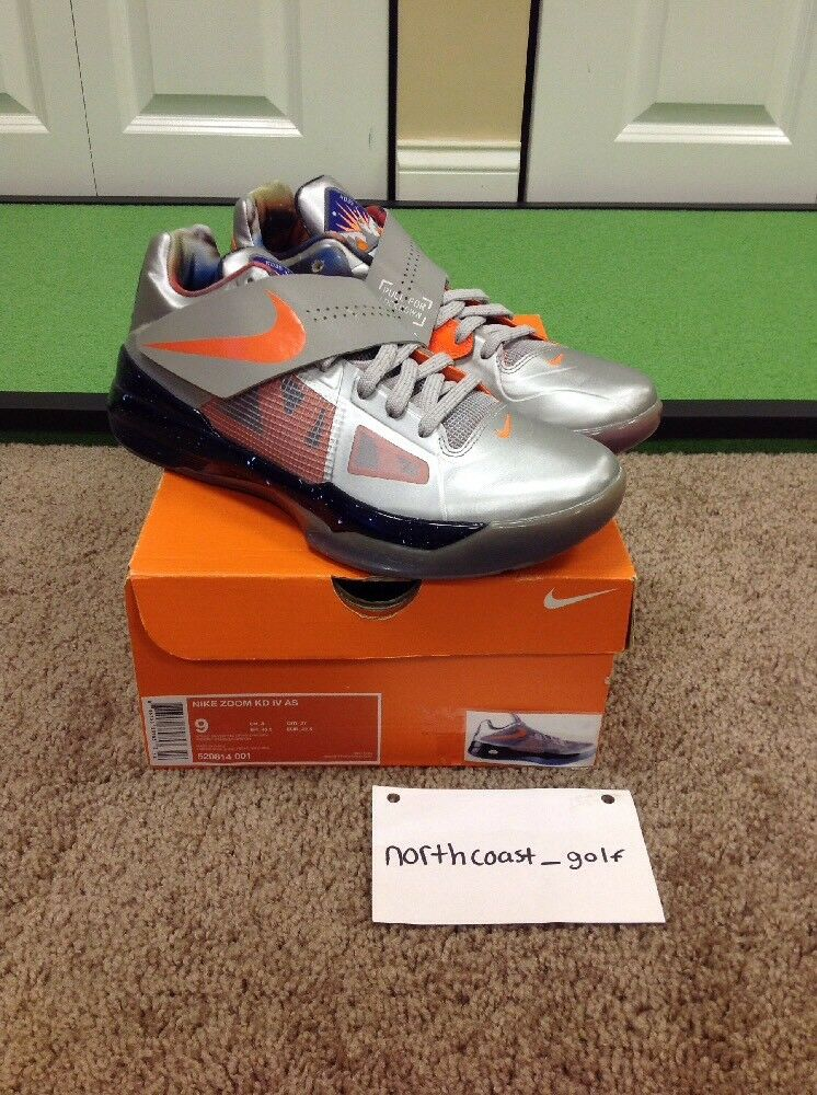 Nike Zoom KD 4 IV All-Star Galaxy Big Bang DS Size 9 US Men's
