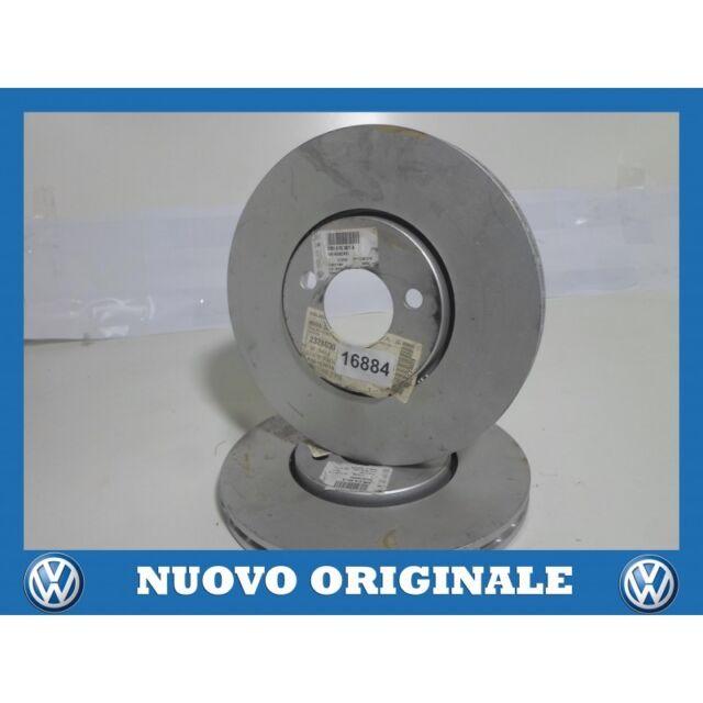 Pair Front Brake Discs Pair of Front Brake Disc Original VW Golf 4 2000
