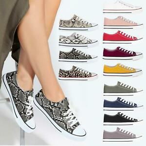 Women Low Top Trainers Sneakers Classic