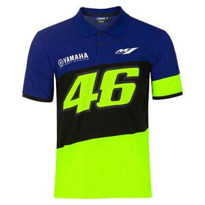NEW 2020 Valentino Rossi 46 Moto GP YAMAHA Team Polo shirt Mens - OFFICIAL