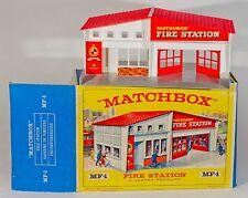 Matchbox MF-1 estación de incendios. 1965 original de menta/Caja.