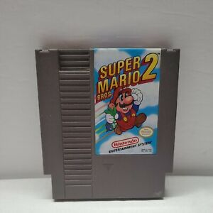 Super Mario Bros. 2 Nintendo Entertainment System NES Cart Only. Very Clean
