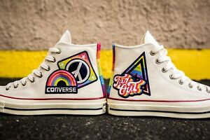 30d50ecadccb Converse Chuck Taylor ALL STAR Hi 70 Pride Parade Shoes Rainbow LGBT ...