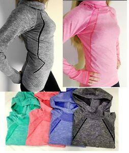 Pro-HyperWarm-Women-039-s-Training-Fitness-Gym-Running-Hoodie-Top-Functional-Fabric