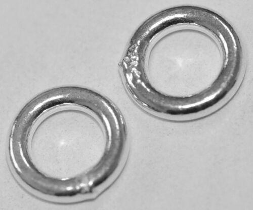 27014 /_ 2 binderinge cerrado 8,1 mm 925-er plata
