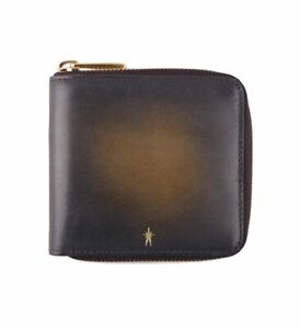 Pierre-Corthay-Otto-Square-Zip-Wallet-Leather-Patina-Black-BNWB