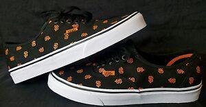 167e55f184 Vans x MLB San Francisco Giants Men Authentic black orange Skate ...