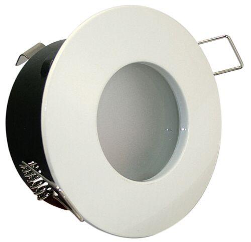 Aqua IP65 GU5.3 MR16 12V 5 Watt 5W LED Bad Dusche Feuchtraum Einbaustrahler