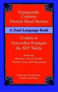 Nineteenth-Century-Francais-Short-Stories-Contes-Et-Nouvelles-Francais-Du-Xixe