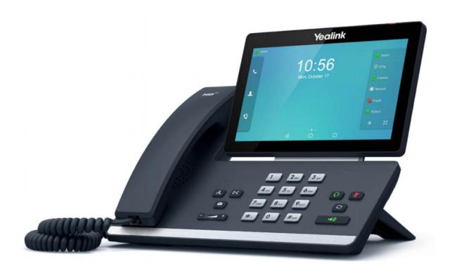 Yealink T58a Smart Media SIP IP VoIP Phone Handset  