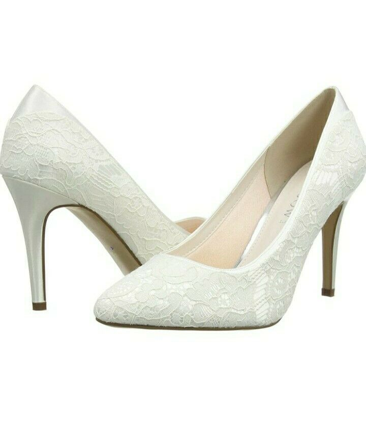 Rainbow club Billie Luxury Lace Bridal Shoes. size 6.