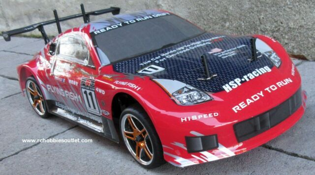 RC Brushless Electric Race Car HSP 1/10 Scale Pro LIPO 4WD 2.4G 1 YR Warr. 12310