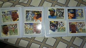 baseball-and-football-cards-Mint-condintion-Fleer-cards-from-1990-039-s