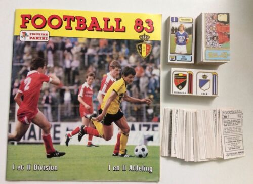 404 MACHELEN -New K.V FOOTBALL 83 BELGIO Panini -Figurina-Sticker n