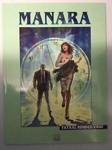 Fatal Rendezvous in Dutch Full Colour Graphic Novel Comic Milo Manara - Galatea