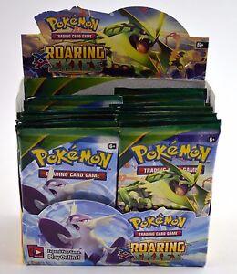 Paquets À Lot Cartes Collectionner Jeu Rugissants 26 Pokemon De Nouveaux Skys Scellés EvqxwSTx