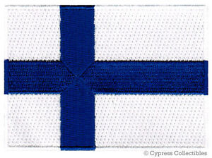 FINLAND-NATIONAL-FLAG-PATCH-FINNISH-EMBLEM-EMBROIDERED-iron-on-applique