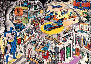 Batman-Secrets-of-the-Batcave-A2-High-Quality-Canvas-Print