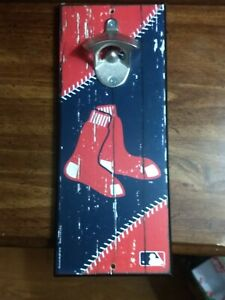 Boston-Red-Sox-MLB-Bottle-Opener-Wood-Sports-Sign