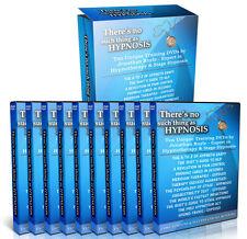 """Juego de video 10 DVD de entrenamiento """"no existe tal cosa como hipnosis"""" hipnoterapia NLP"""