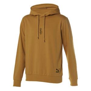 Details about Puma X BTS LS Shoelace Hoody Hoodie Official Bangtan Boys  S-XL - Honey Mustard