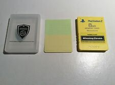PS2 Tarjeta de memoria 8MB ganador once amarillo Sony Premium Serie Free Mcboot Japón