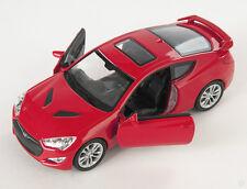 BLITZ VERSAND Hyundai Genesis Coupe II  rot / red Welly Modell Auto 1:34 NEU OVP