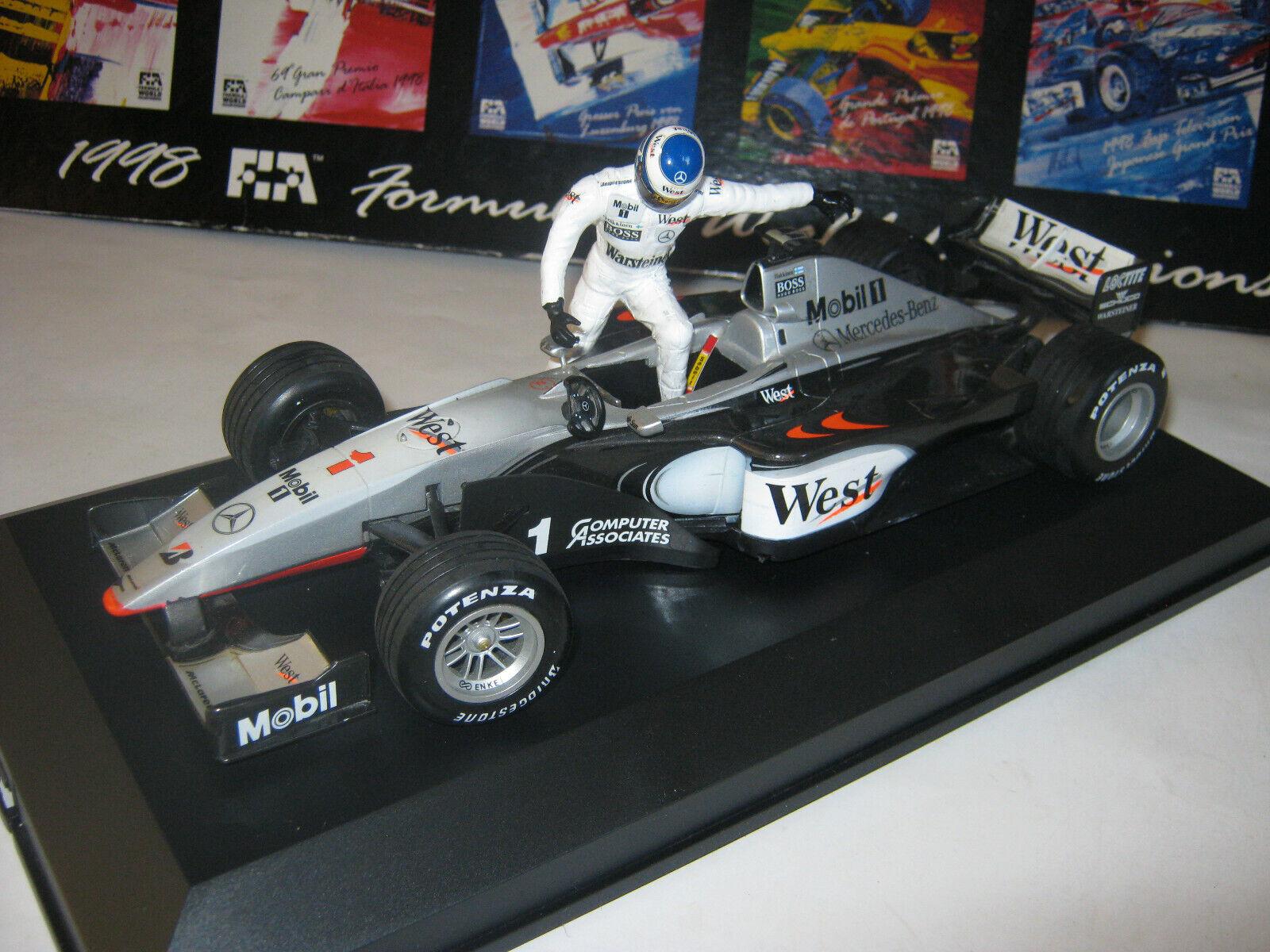 1 18 McLaren Mercedes MP4 14 M. M. M. Häkkinen 1999  Enter the car  full tabacco in SC d29a96