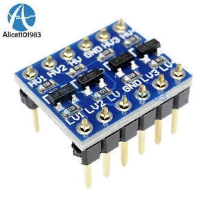 New-IIC-I2C-Logic-Level-Converter-Bi-Directional-Module-5V-to-3-3V-For-Arduino