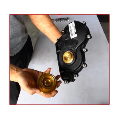 AT BOTTOM Timing Case Cover Remover // Installer BMW Front Crankshaft 2357900