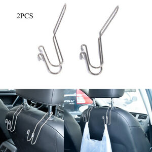Metal-Car-Seat-Holder-Coat-Clothes-Hook-Back-Purse-Bag-Hanging-Hanger-Organizer
