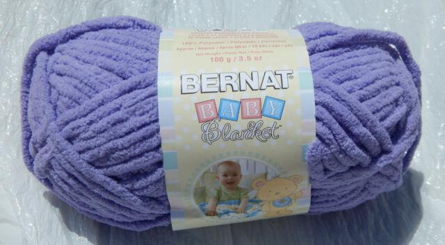 Skeins Bernat Baby Blanket Yarn 100g/ 72yds Lilac