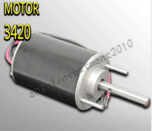 24V Marshmallows Machine Motor 3420 New 1pc High Speed Adjustable DIY DC 12V