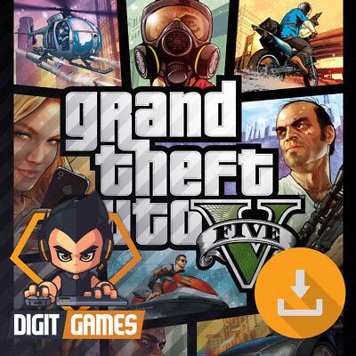 10962f1b70c Details about Grand Theft Auto V 5 (GTA 5) - Rockstar Social Club Key / PC  Game [NO CD/DVD]