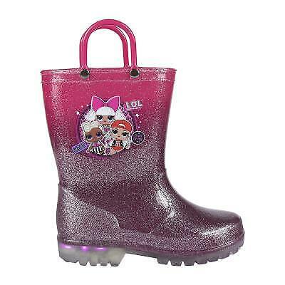 LOL Surprise Kids Led Light Wellington Rain Boots Wellies Original Licensed L...